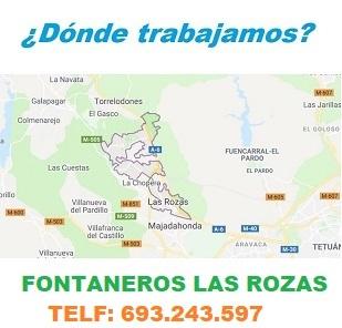 ¿ en que zonas de Las Rozas trabajamos ?
