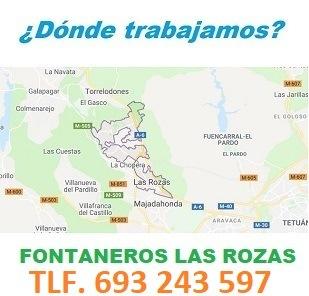 Fontaneros Las Rozas Calle Real